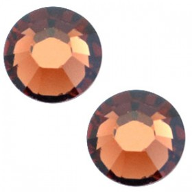 Swarovski Elements SS30 (6.4mm) Smoked topaz