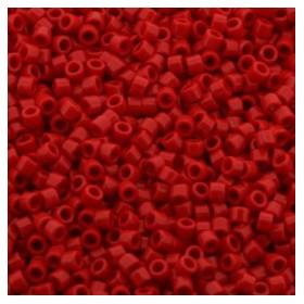 Miyuki Delica 11/0 Opaque red