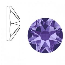Swarovski Elements 2088-SS34 flatback Xirius Rose Tanzanite purple