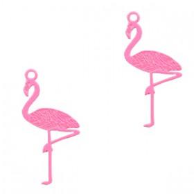 Bohemian hanger flamingo Pink