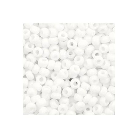 Miyuki Rocailles 8/0 Opaque white