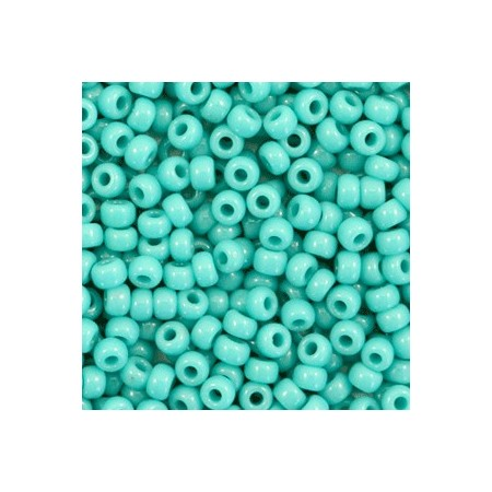 Miyuki Rocailles 8/0 Opaque turquoise green