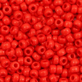 Miyuki Rocailles 8/0 Opaque red