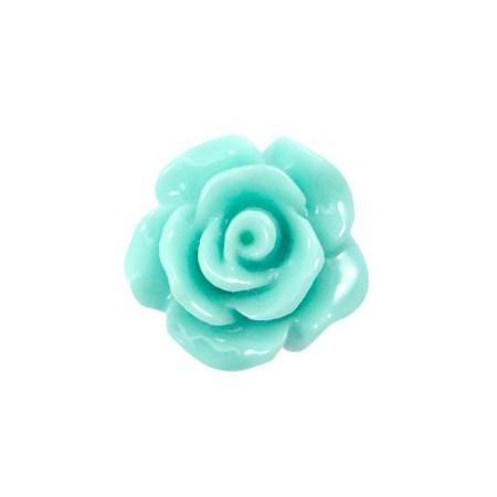 Roosjes kralen 10mm shiny Mint