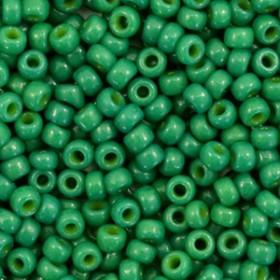 Miyuki Rocailles 8/0 opaque spruce green