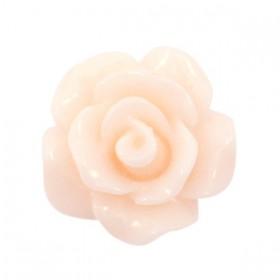 Roosjes kralen 10mm shiny Pink Chanmagne
