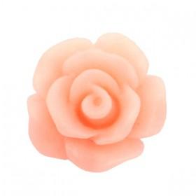 Roosjes kralen 10mm matt Peach