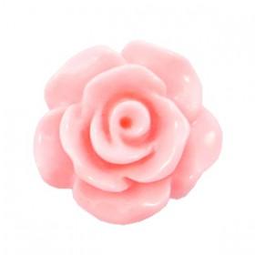 Roosjes kralen 10mm shiny Sweet pink