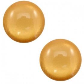 7 mm classic cabochon Polaris Elements soft tone shiny Camel brown