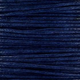 Waxkoord 1.0mm Midnight blue