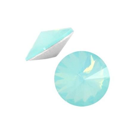 LC rivoli puntstenen 1122 - 12 mm Pacific blue opal