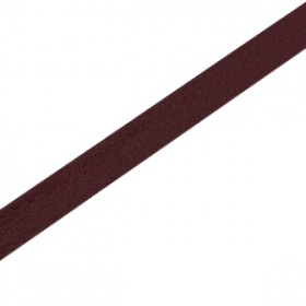 Basic quality leer plat 5mm Aubergine brown