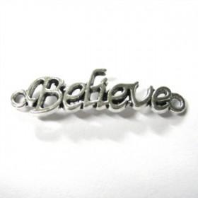 Deco-art believe zilverkleur