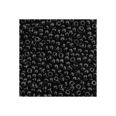 Miyuki rocailles 11/0 Opaque black 11-401