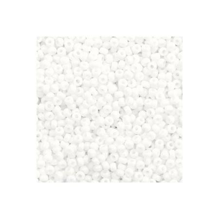 Miyuki rocailles 11/0 Opaque white 11-402