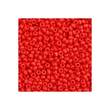 Miyuki rocailles 11/0 Opaque red