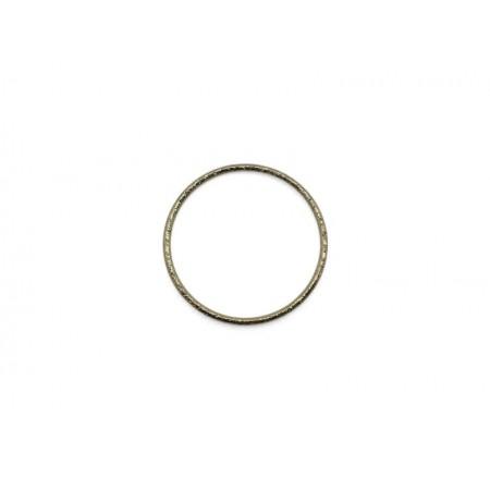 Gesloten cirkel Goud 19mm (nikkelvrij)