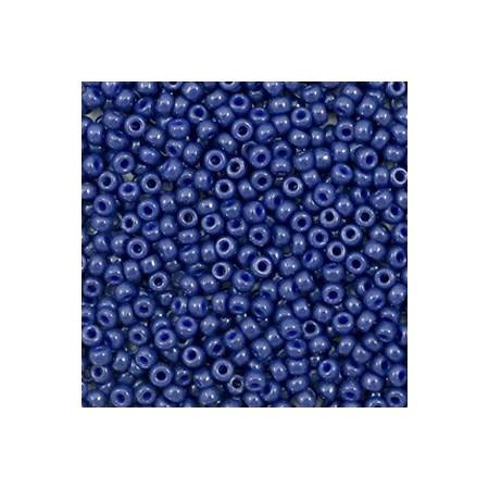 Miyuki rocailles 11/0 Duracoat opaque dyed navy blue