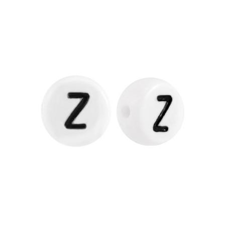 Acryl letterkraal rond Z
