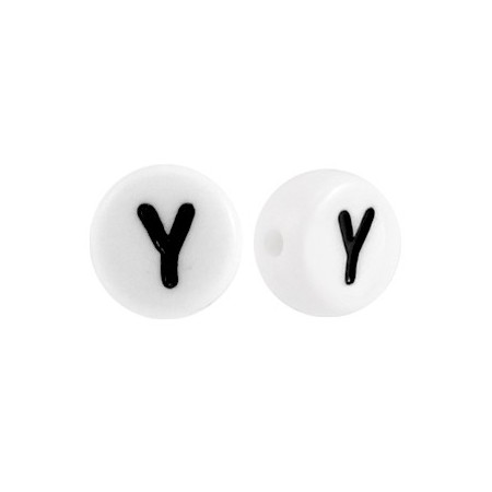 Acryl letterkraal rond Y