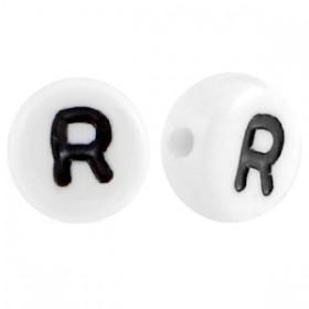 Acryl letterkraal rond R