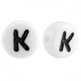 Acryl letterkraal rond K