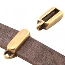 Schuiver voor 10mm plat leer/draad