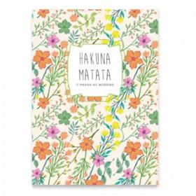 """Sieraden wenskaart """"Hakuna Matata"""" Multi colour"""