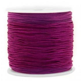 Macramé draad 0.8mm Royale aubergine purple