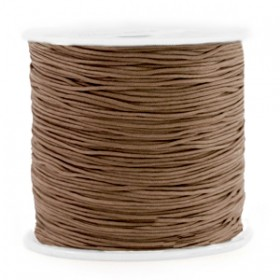 Macramé draad 0.8mm Chestnut brown