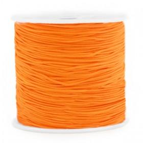 Macramé draad 0.8mm Mandarin orange