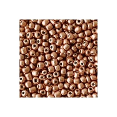 Rocailles 2mm Copper brown metallic