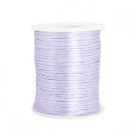 Satijnkoord 1.5mm Soft lavender purple