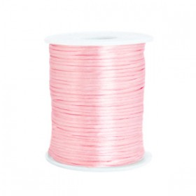 Satijnkoord 1.5mm Light rose