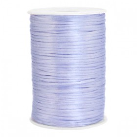 Satijnkoord 2.5mm Soft lavender purple