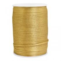 Satijnkoord 2.5mm Gold