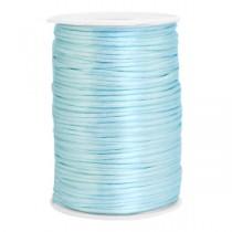 Satijnkoord 2.5mm Ice blue