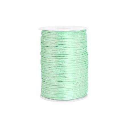 Satijnkoord 2.5mm Neo mint green