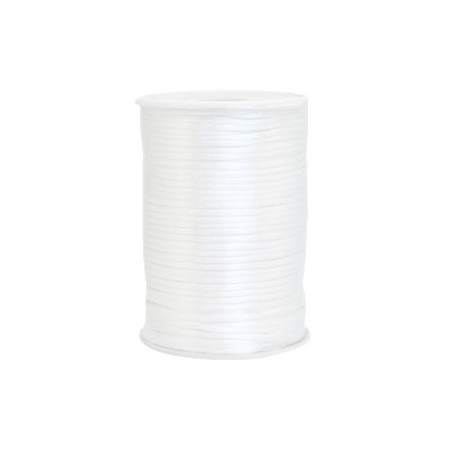 Satijnkoord 2.5mm White