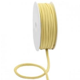 Gestikt elastische lint 5mm Gold