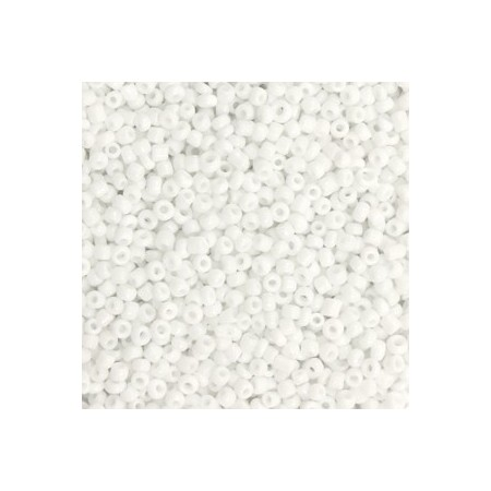 Rocailles 2mm White
