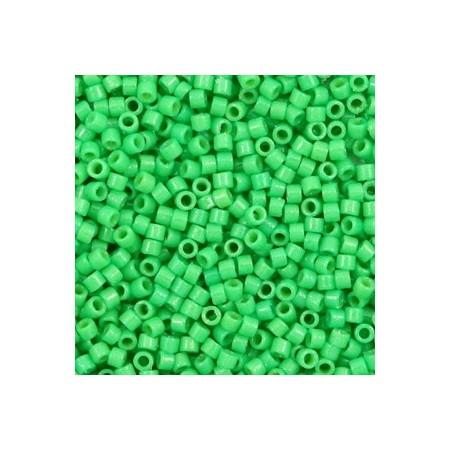 Miyuki Delica 11/0 Duracoat opaque dyed fiji green