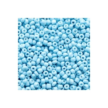 Rocailles 2mm Sky blue
