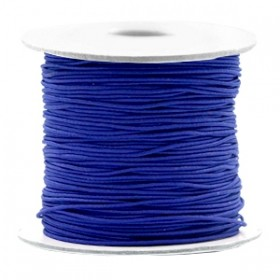 Gekleurde elastische draad 0.8mm Cobalt blue