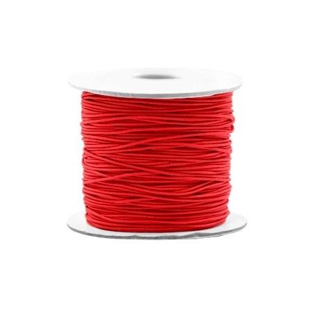 Gekleurde elastische draad 0.8mm Red