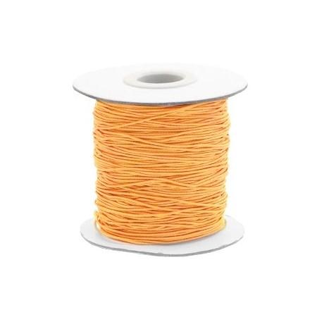 Gekleurde elastische draad 0.8mm Sunflower orange