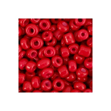Rocailles 4mm Burgundy red