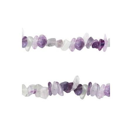Chips stone kralen Crystal turquoise purple opal