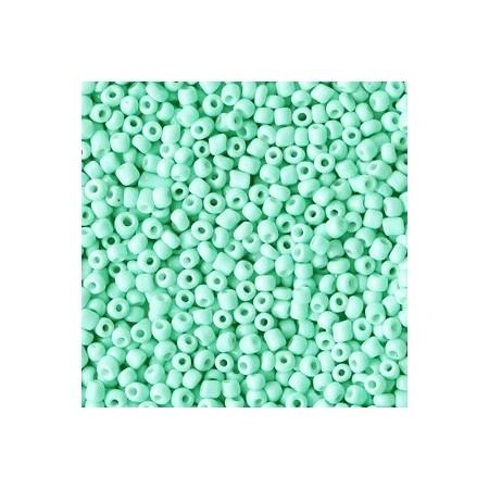 Rocailles 2mm Spearmint turquoise