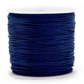 Macramé draad 0.8mm Sodalite dark blue